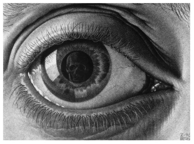 Escher occhio