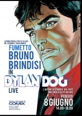 Bruno Brindisi a Scuola Italia di Comix